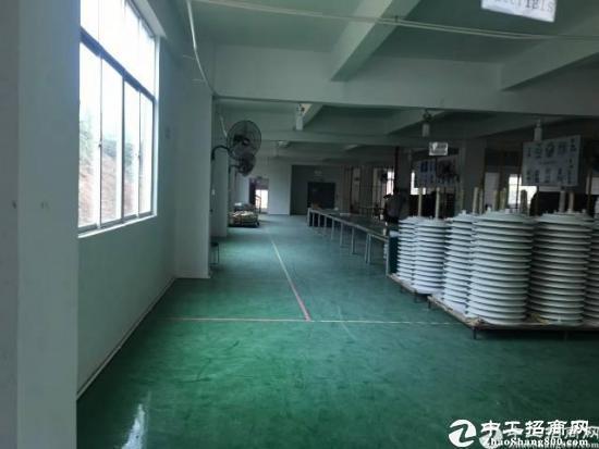 坪山大工业区标准一楼厂房400平 现成水电装修