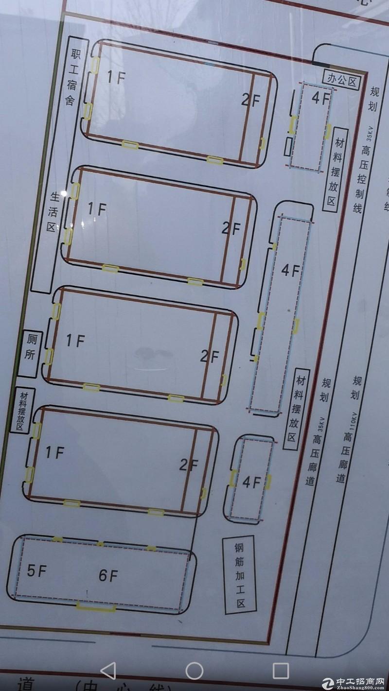 出售:廊坊园区工业土地25亩,上有厂房3400平米