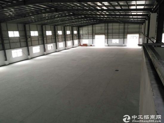 大岭山镇近期空出18000平单一层钢构厂房出租可分