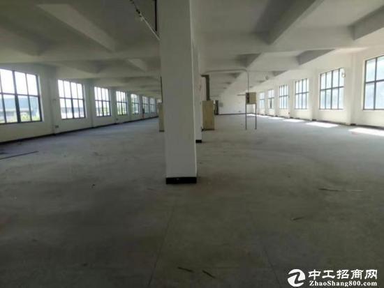 厚街工业园厂房A栋三楼还剩5100平方,四楼整层6600平方