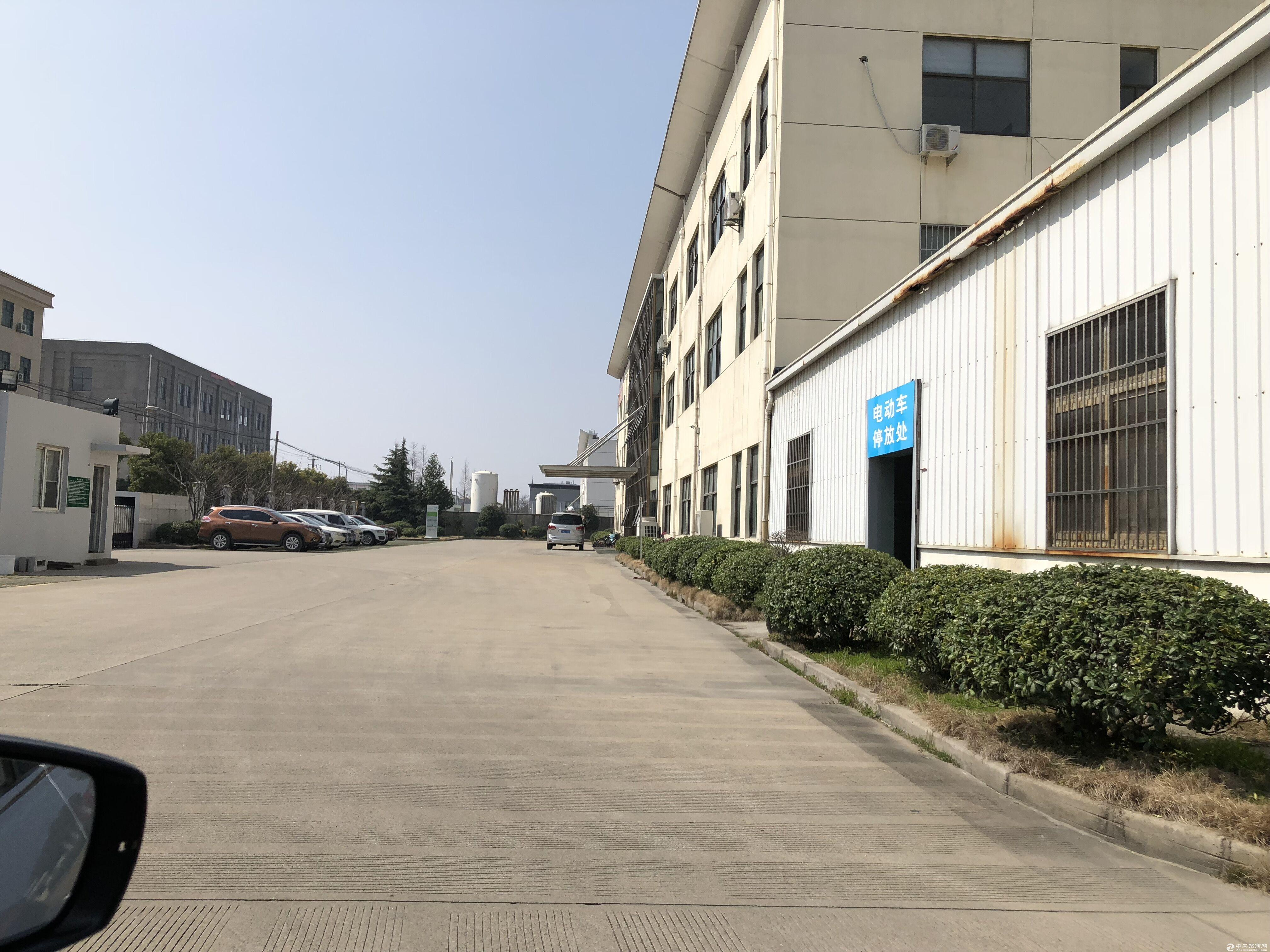 松江车墩新桥104地块单层厂房390平米高8米