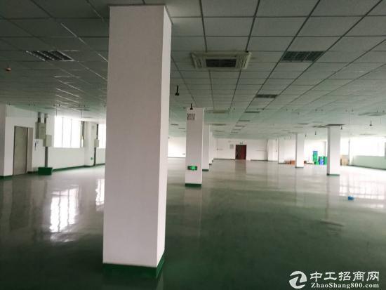 纯框架结构,2000平精装电子研发生产组装场地,出租