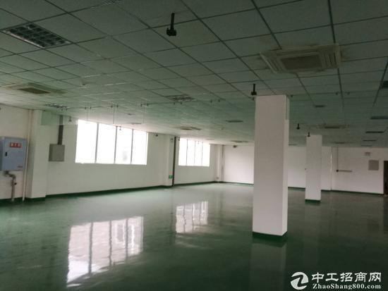 纯框架结构,2000平精装电子研发生产组装场地,出租-图4