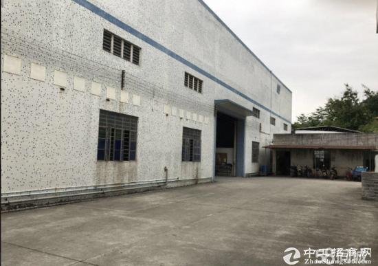 坪地 独门独院厂房面积1800平,带卸货平台
