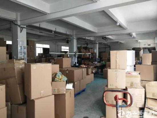 厚街汀山村工业聚集地空出独栋厂房一楼750平可做仓库,生产