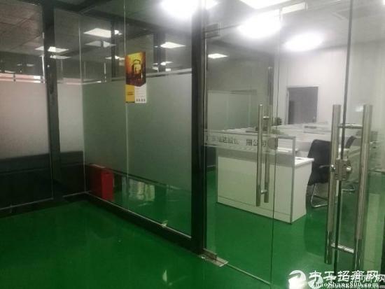 西乡黄田高薪产业园二楼1500平米出租