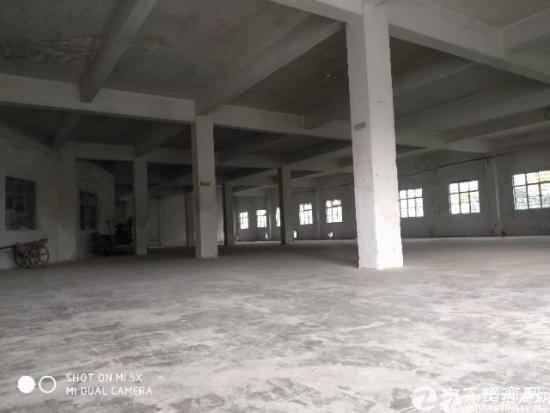 坪地富地岗高速口旁一楼厂房800平高5米空地大
