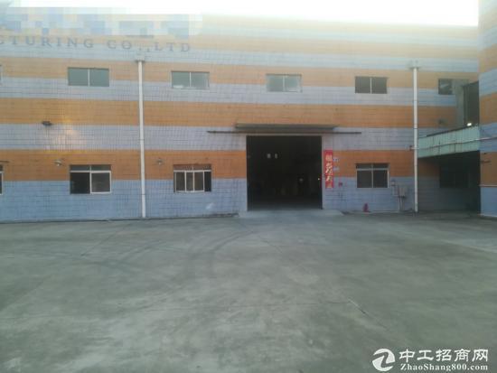 东莞清溪镇独门独院砖墙钢构厂房滴水9米高带装修办公楼