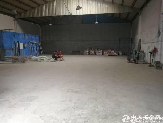 平湖一楼 钢结构760平米厂房出租