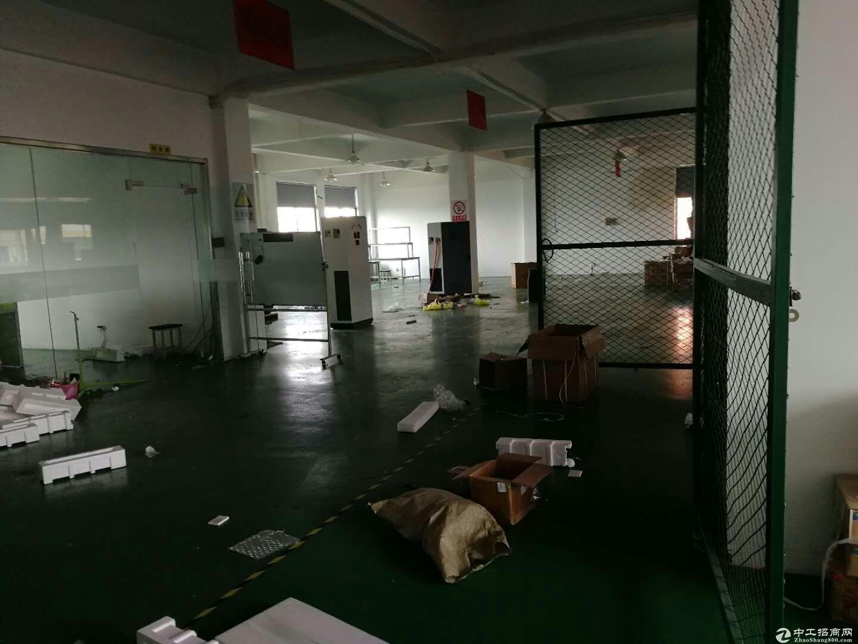 松江车墩720平米三楼厂房无公摊配电足