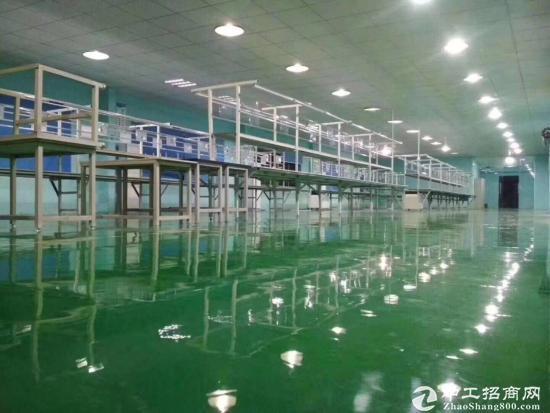 广州增城新塘主干道边上独院厂房二楼带装修1100平方招租