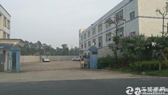 龙岗坪地3780平带精装修独院厂房空地超大可分租-图2