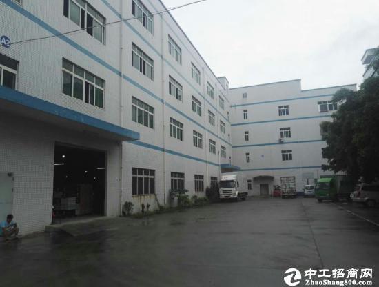 龙岗原房东独栋厂房一栋4层共6500平米出租
