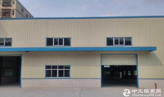 石排镇单一层1600平方钢构厂房招租