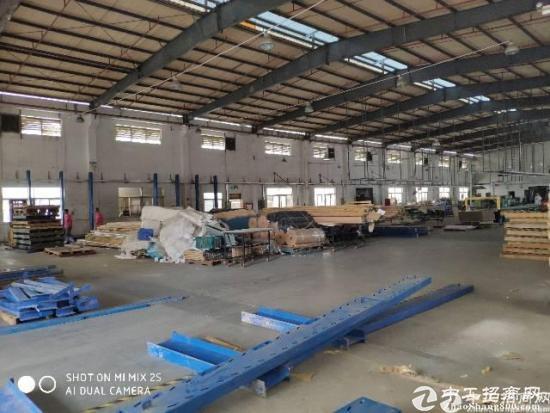 公明上村新出独院钢构厂房3600平米高度8米带消防喷淋
