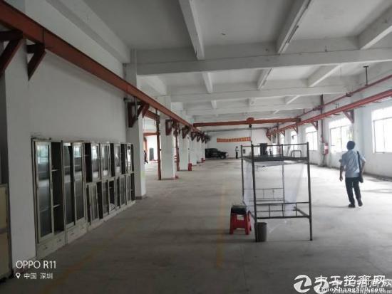 龙岗南联新出一楼标准厂房1680平方米出租