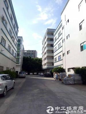 龙岗宝龙工业区楼上1800平带装修厂房出租