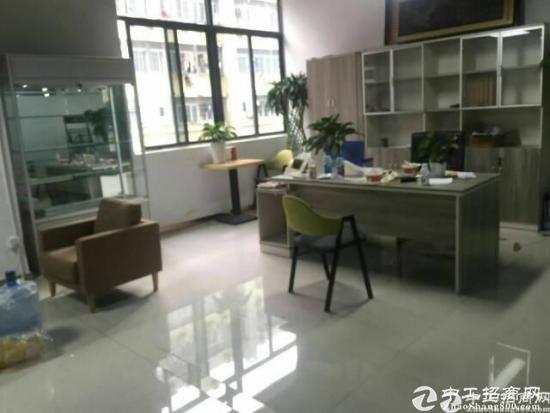 西乡银田宝安大道附近2楼1800平厂房出租