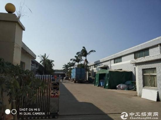 大亚湾4300平钢构厂房滴水7.5米带卸货平台