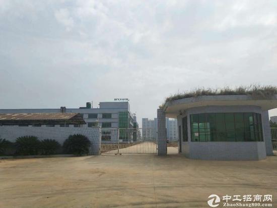 光明经典独院标准一楼8米高3000平米空地大急租