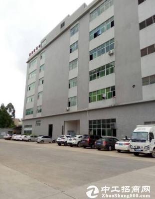 坪山碧岭大型工业园新出楼上580平带办公室急租