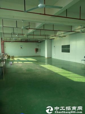 龙岗宝龙社区厂房带卸货平台厂房2000平