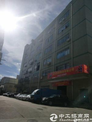 南山西丽南光高速附近楼上带卸货平台2400平厂房红本厂房