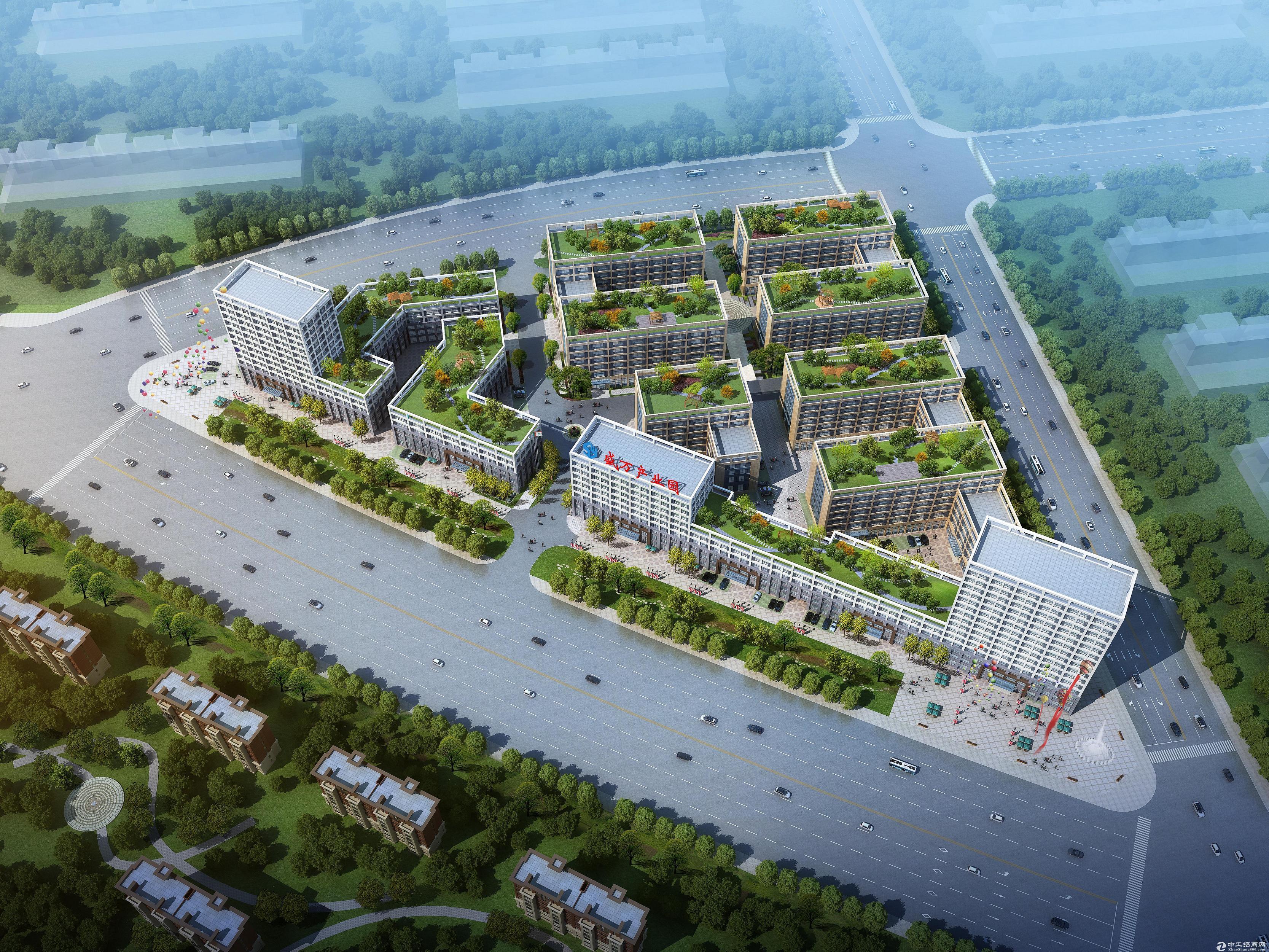 新建园区总占地面积140亩,建筑面积13万多平方,分为多层、高层、小高层,产权独立,可选面积多,从292平,340平,400平--1782平单间、单层至整栋、独栋,应有尽有。 花园式厂房、墅式办公,南北通透,周边主干道环绕,距政务区、高新区、经开区、肥西县城10分钟车程,配套有食堂、宿舍、工业超市、天然气,独立排气、排烟管道及专用污水沉淀池,园区主要以生产制造、仓储物流、办公、企业总部、机械设备加工、机电电子、新能源、包装辅材、电子商务、办公、研发、展厅、商业等一体化等为主。 产权独立,可办理按揭,方式灵