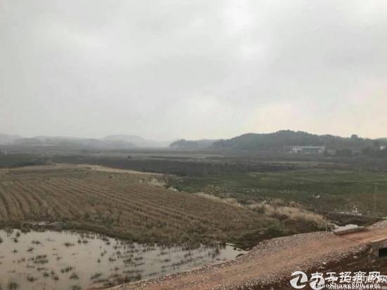 深圳光明新区地铁口附近66亩红本工业用地急售