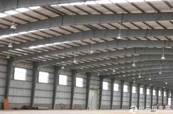 厚街镇成熟工业区新出钢构1600平 中间无柱子   位置好