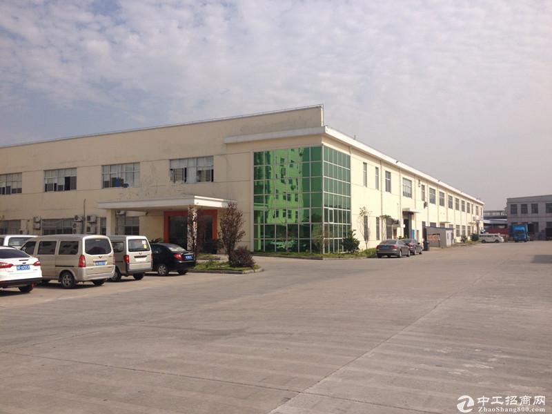松江新桥新飞路11亩独院厂房空地可在建绿证出让售