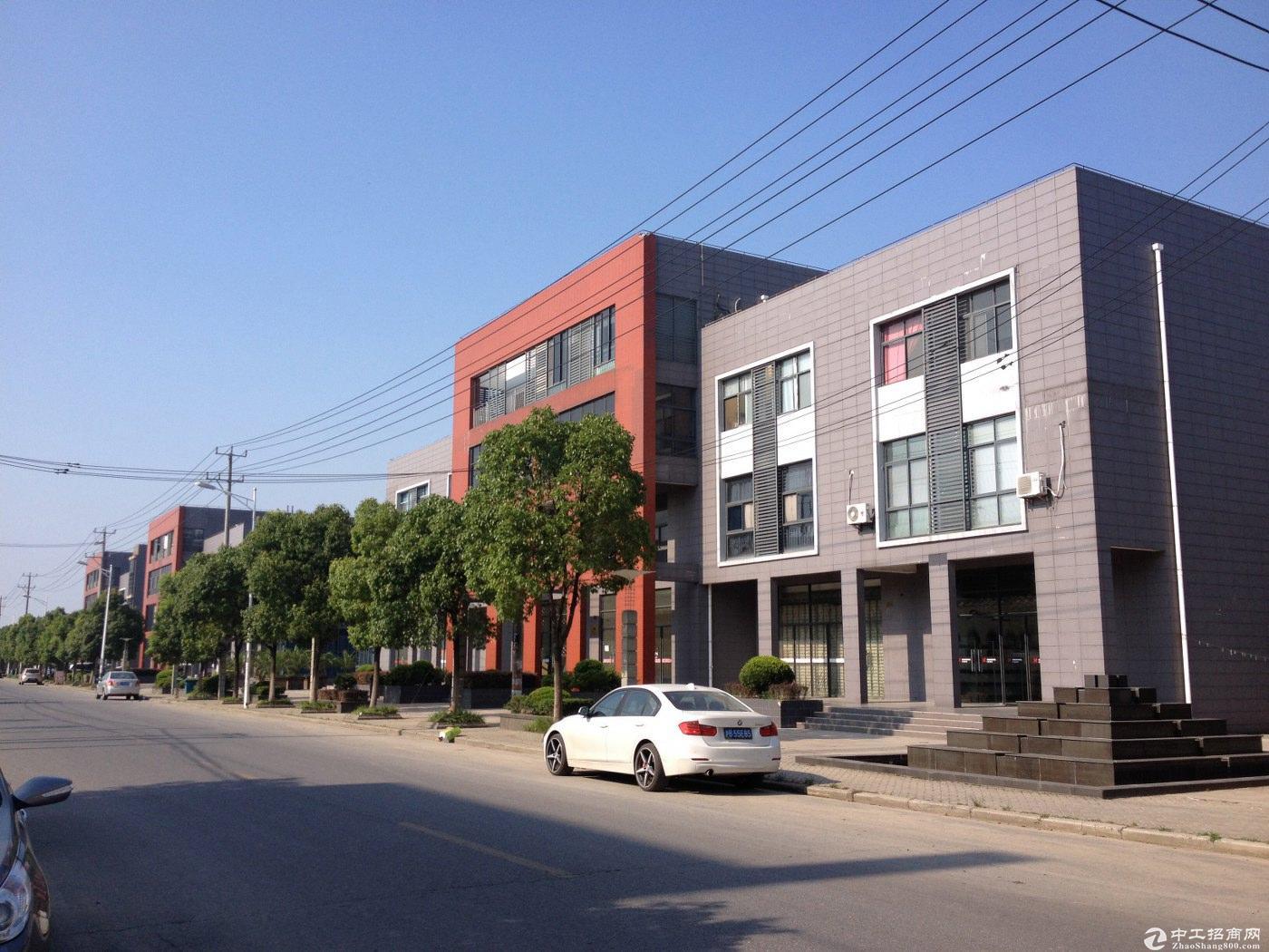 松江区独栋办公总部 可研发生产办公 沿河 可按揭