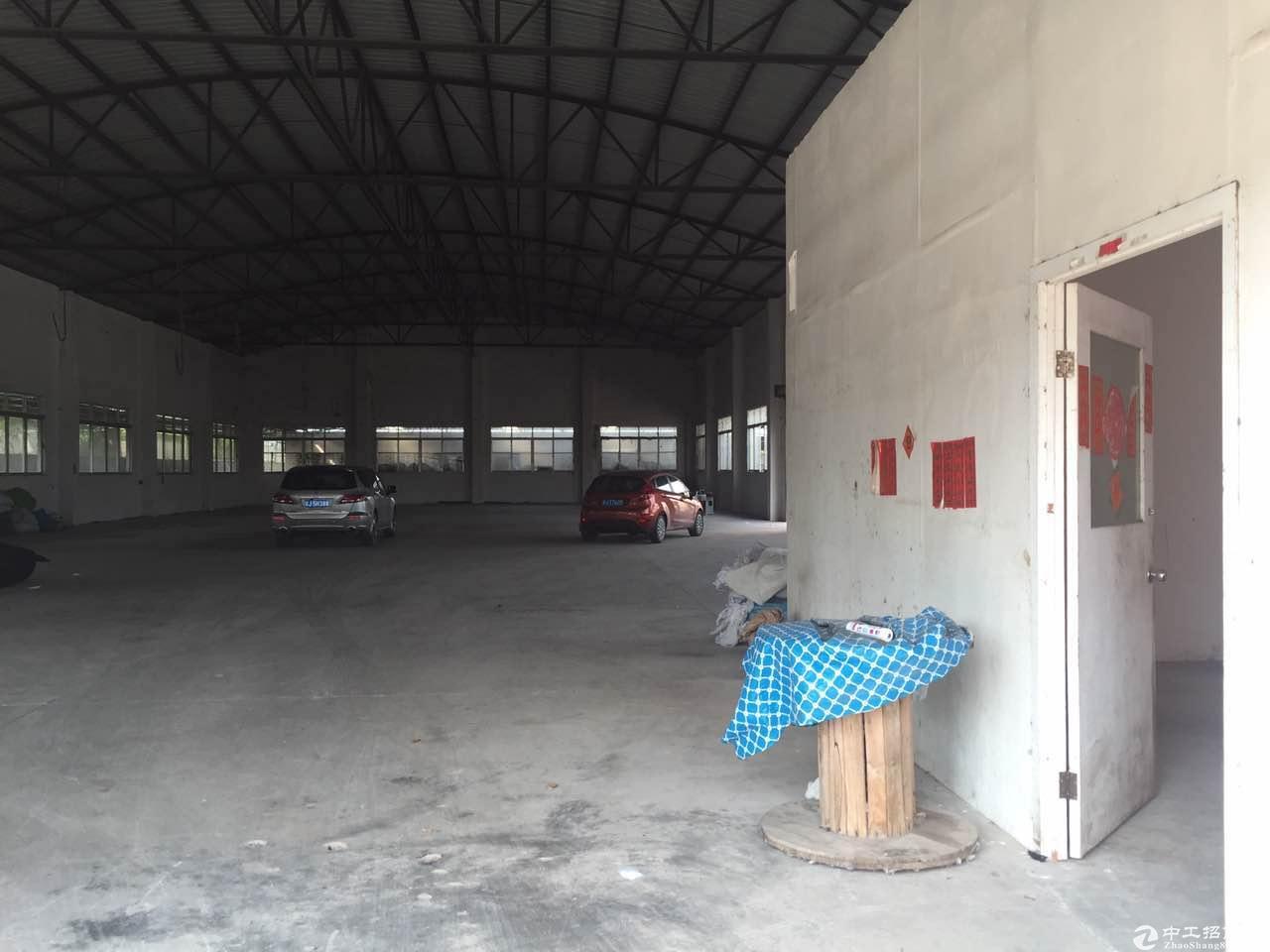 杜阮工业区区内4300平方钢架厂房出租