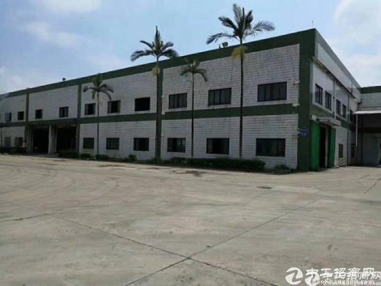惠阳沙田新出独栋钢构厂房6000平方滴水7米中间