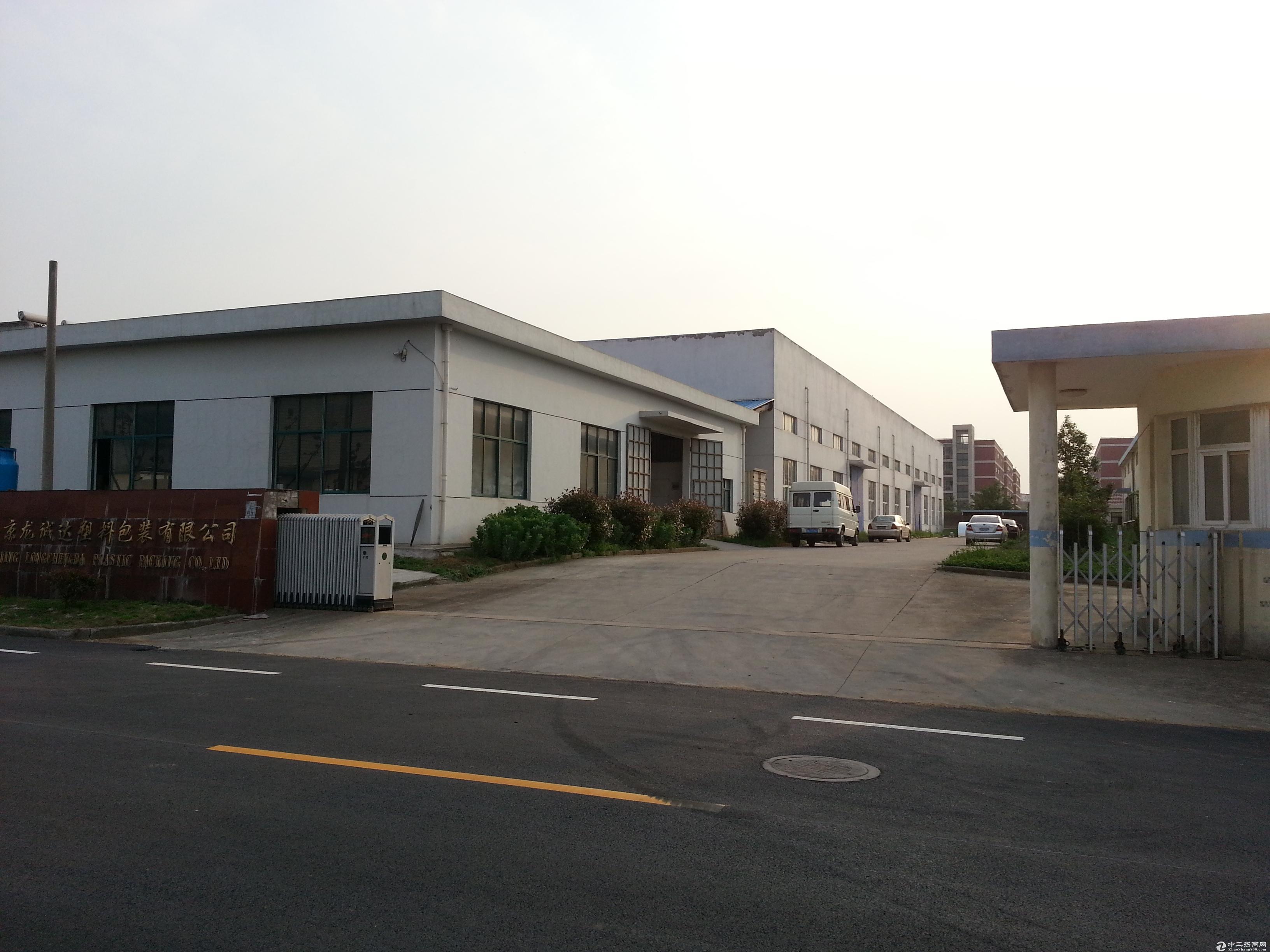 江宁陶吴工业园900平方米标准工业厂房出租采光好交通便捷