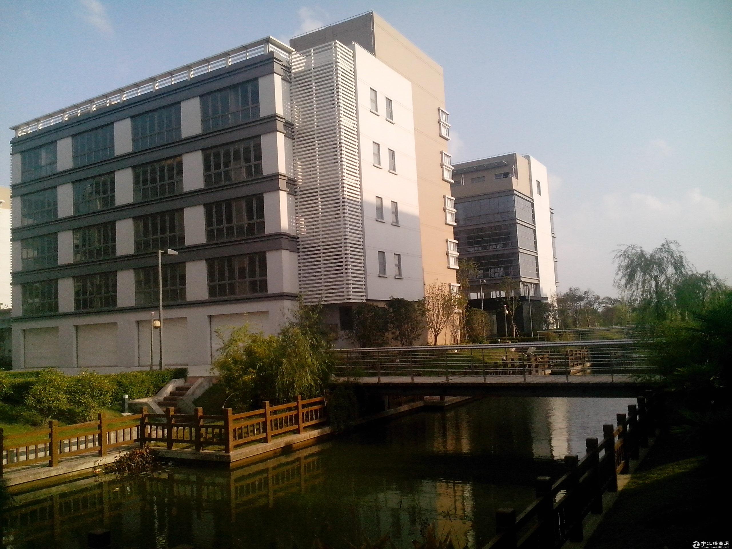 新桥独栋总部精装修绿证50年104板块生产办公研发