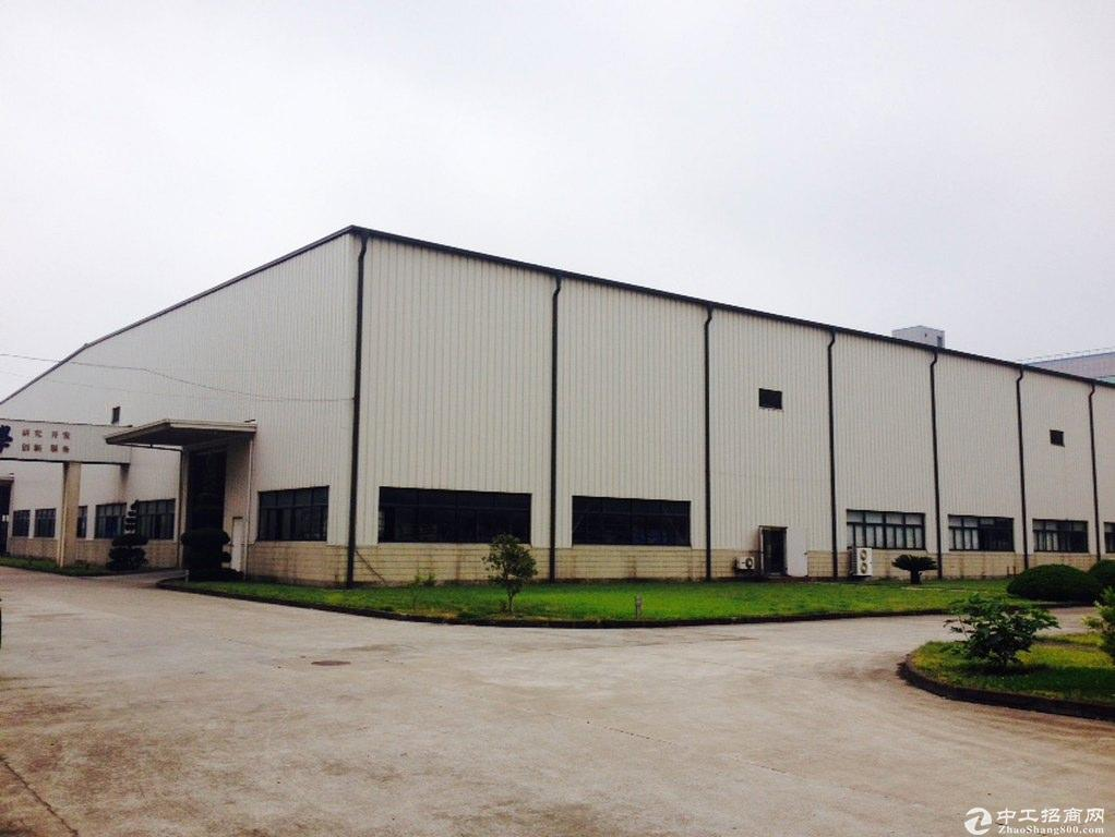 嘉善独栋一千平单层车间九米带牛腿绿证生产型厂房出售