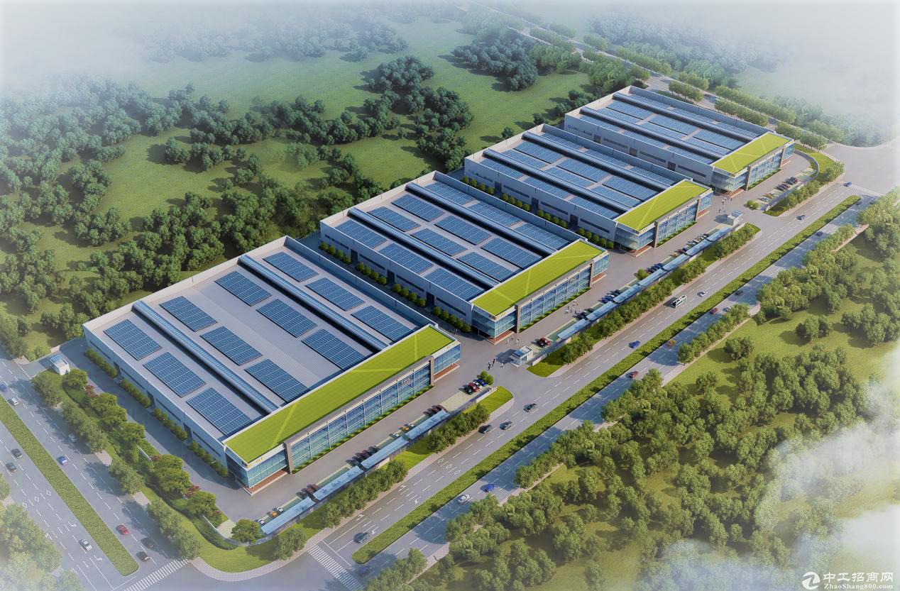 【金山近松江】2万多平厂房独栋每幢4000平起租104工业区