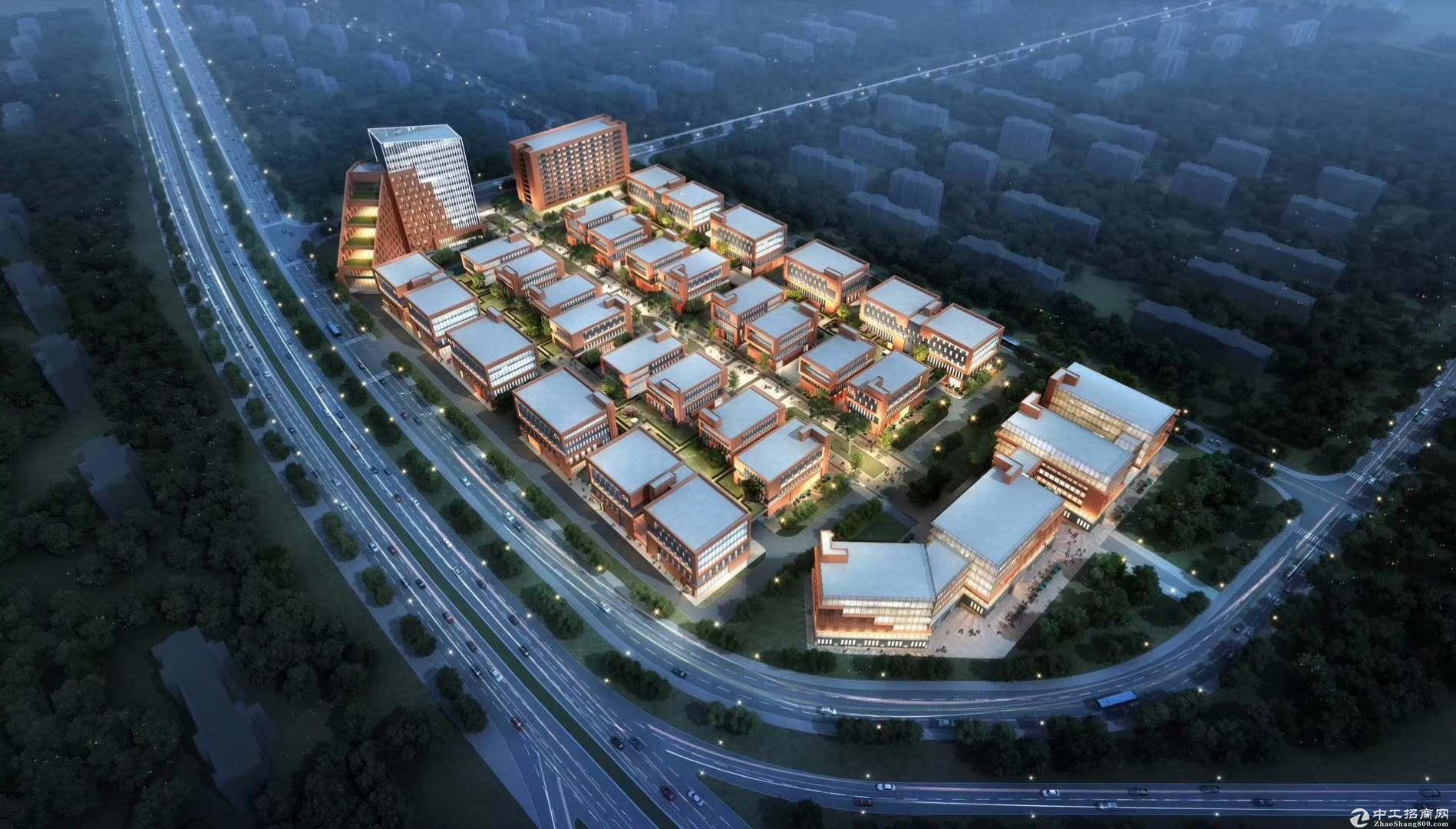 长沙开福区独栋厂房 国资开发 面积大小灵活组合 可研发办公