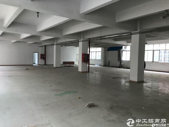横岗 地铁口228工业区标准厂房五楼带装修1750平招租