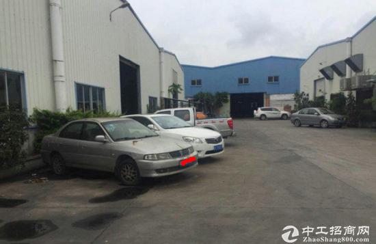 高埗7米高带行车钢构厂房 4000平米 可分租