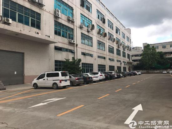 横岗 六约社区标准厂房四楼精装修1650平招租