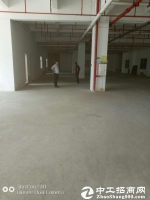 大工业区红本喷淋厂房1350平急租5吨电梯