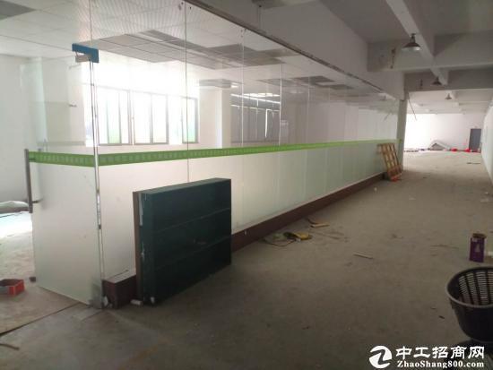 横岗四联工业区原房东一层600平1200平厂房出