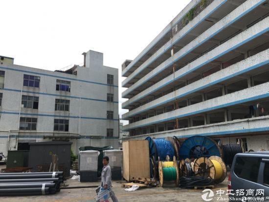 坂田杨美附近新出独院厂房1-4层8780平方大小