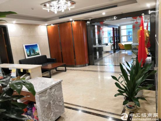 坪山大工业区 256平精装修办公楼出租 带办公家具