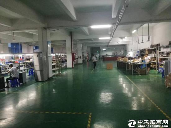 龙岗中心城附近独院厂房3800平方有装修可分租