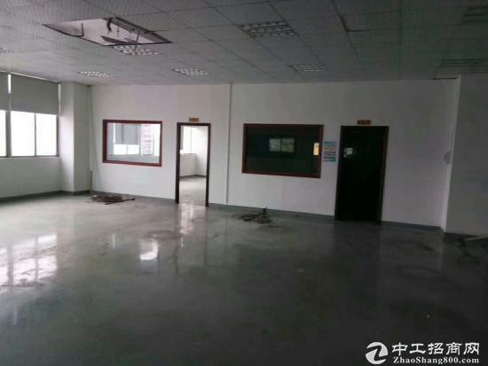 坑梓龙田大型工业园分租三楼带装修厂房1200平方