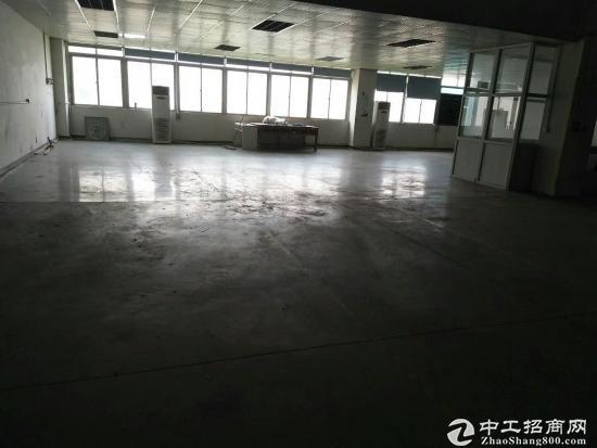 坪山碧岭工业区新出红本楼上600平方精装修厂房出
