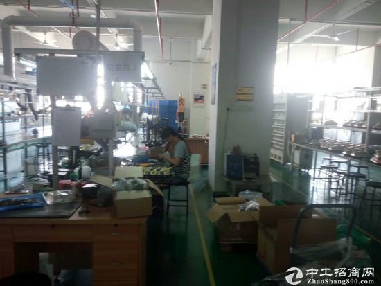 横岗简龙原房东厂房楼上580平方带装修厂房出租